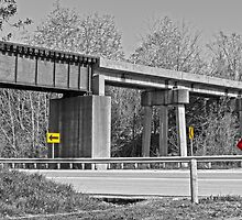 Railroad Overpass by Susan S. Kline
