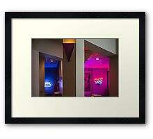 Light and Space Framed Print