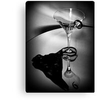 007's Glass Charm Canvas Print