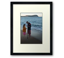 'Helping Hand' Framed Print