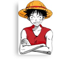 Luffy from One Piece Canvas Print