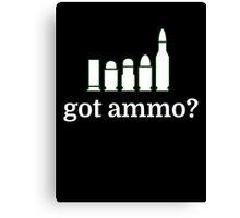 got ammo? Canvas Print
