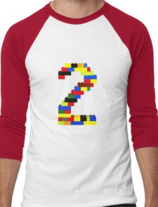 2 Men's Baseball ¾ T-Shirt
