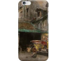 Car - Cour, Rue de Valencemm France - A Sunday afternoon - 1925 iPhone Case/Skin
