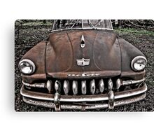 rusty and really crusty Canvas Print