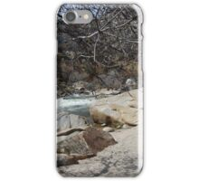 camping in kernville iPhone Case/Skin