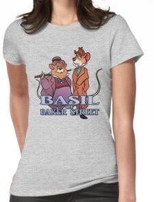 Basil of Baker Street Womens Fitted T-Shirt