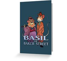 Basil of Baker Street Greeting Card