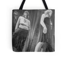 Shop dummy female mannequins black and white 35mm analog film photo Tote Bag
