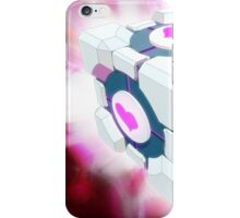 Companion Cube iPhone Case/Skin