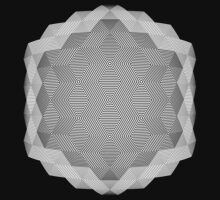 Hex scintillation optical illusion by suranyami