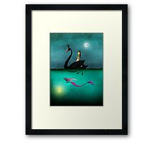 Bride & Gloom Framed Print