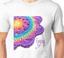 Enjoy the Courage Flowers Unisex T-Shirt