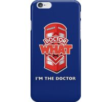 Doctor What iPhone Case/Skin