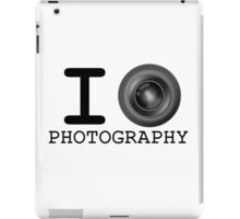 I Heart Photography iPad Case/Skin