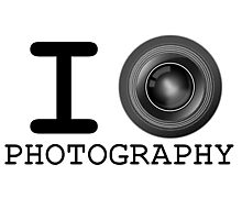I Heart Photography Photographic Print