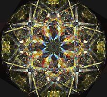 Glass Mandala by JDNarts