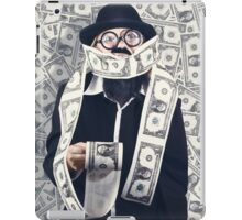 Filthy rich male business person. Finance success iPad Case/Skin