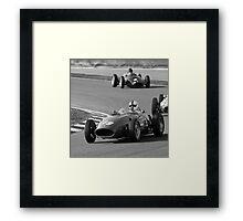 History of Ferrari Framed Print