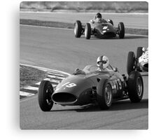 History of Ferrari Canvas Print