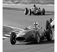 History of Ferrari Photographic Print