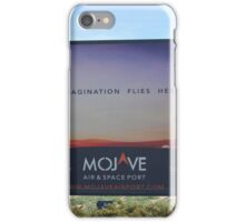 Mojave space port iPhone Case/Skin