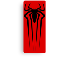 the amazing spider man logo Canvas Print