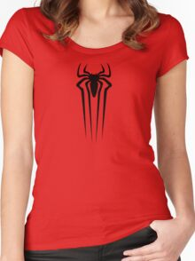 the amazing spider man logo Women's Fitted Scoop T-Shirt