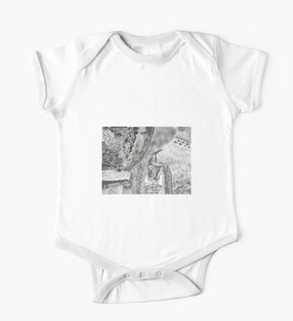 Kitty in the brush One Piece - Short Sleeve