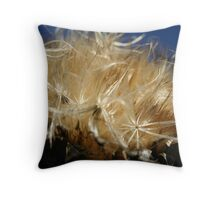 Thistle to Seed Throw Pillow