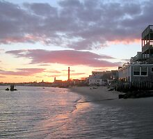 sunsetting over Provincetown by Peter Cook