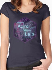 AcroLab Sticker3 Women's Fitted Scoop T-Shirt