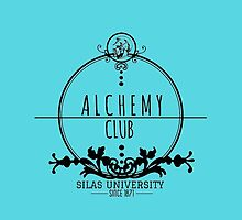 Silas University Alchemy club-coloured by Sw'aa .designs
