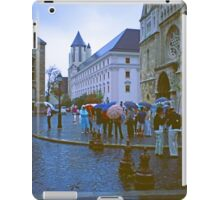 More Rain in Buda, Hungary 2001 iPad Case/Skin