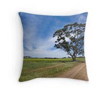 Windy and Warm Throw Pillow