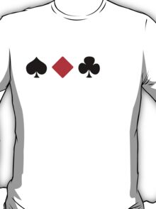 Spade, Diamond, Club, ... T-Shirt