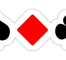 Spade, Diamond, Club, ... Sticker