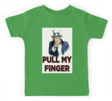 Uncle Sam - Pull My Finger Kids Tee