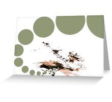 Gravity Greeting Card