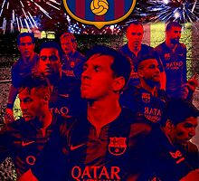 FC Barcelona by chivoposters