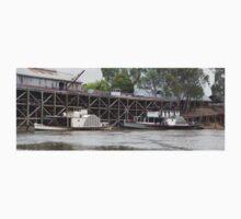 Historic inland port of Echuca, Australia One Piece - Short Sleeve