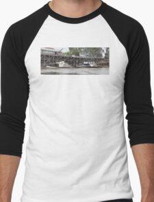 Historic inland port of Echuca, Australia Men's Baseball ¾ T-Shirt
