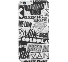 Bands Collage iPhone Case/Skin