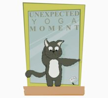 Cats Caught In Unexpected Yoga Moments Baby Tee