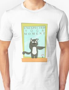 Cats Caught In Unexpected Yoga Moments Unisex T-Shirt