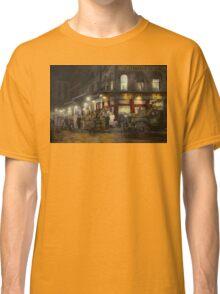 City - NY - Washington Street Market, buying at night - 1952 Classic T-Shirt
