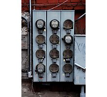 Electrical Box Photographic Print