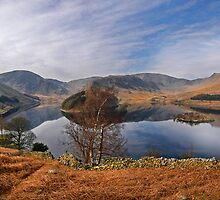 Haweswater panorama by eddiej