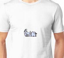 Pixel Cat-blue Unisex T-Shirt