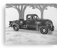 Classic Worker Canvas Print